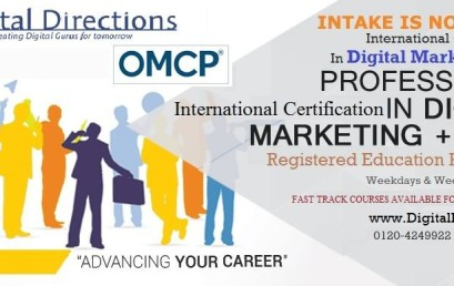 Digital Directions bags the title of the First OMCP Certified Institute in North India