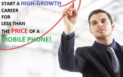 Build a Career for Yourself for Less than The Cost of a Mobile Phone!